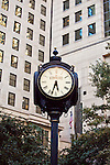 Charlotte NC - Historic clock in uptown Charlotte