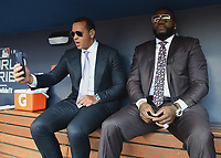 10/28/18 - Los Angeles:  World Series on Fox - Game 5 - Boston Red Sox vs LA Dodgers - Pregame