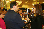 "Fans came to see Days - Kristen Alfonso with jewelry line Hope - Faith - Miracles on November 29, 2008 at Bloomingdales, New York City, New York. ""The fleur de lis has been the symbol of my inspiration. It has brought me hope and the faith to believe in miracles."" (Photo by Sue Coflin/Max Photos)"