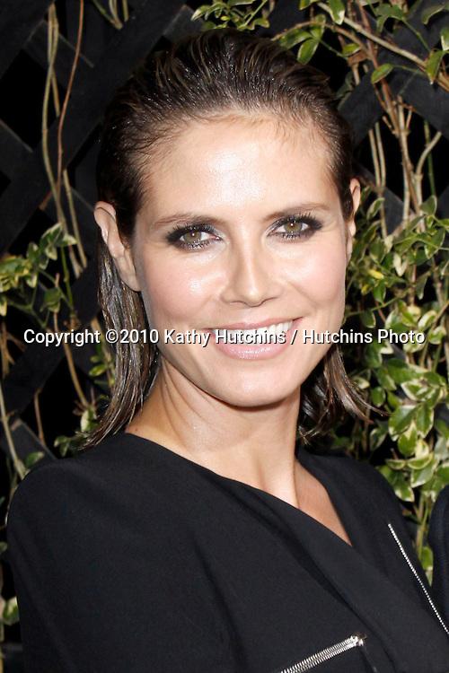 Heidi Klum.Eva by Eva Longoria Parker Fragrance Launch Party.Beso Hollywood.Hollywood, CA.April 27, 2010.©2010 Hutchins Photo....