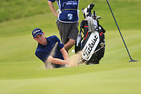 Grant Forrest (SCO) chips from a bunker at the 16th green during Sunday's Final Round of the Dubai Duty Free Irish Open 2019, held at Lahinch Golf Club, Lahinch, Ireland. 7th July 2019.<br /> Picture: Eoin Clarke | Golffile<br /> <br /> <br /> All photos usage must carry mandatory copyright credit (© Golffile | Eoin Clarke)
