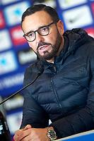 Getafe CF's coach Jose Bordalas in press conference after La Liga match. January 6,2018. (ALTERPHOTOS/Acero) /NortePhoto.com NORTEPHOTOMEXICO
