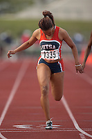 SAN ANTONIO, TX - MARCH 16, 2007: UTSA Relays Track & Field Meet - Day 1 at Jerry Comalander Stadium. (Photo by Jeff Huehn)