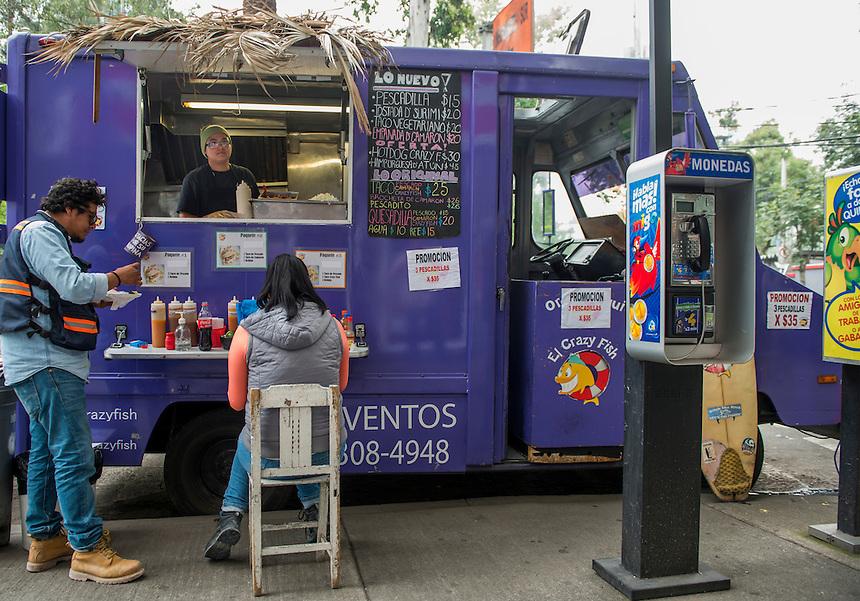El Crazy Fish, Foodtruck, streetfood, Mexico City