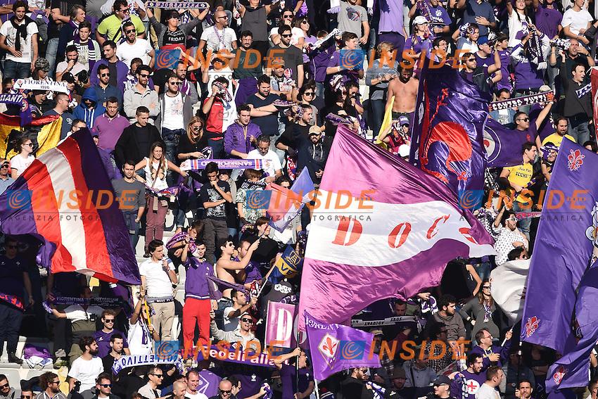 Tifosi Fiorentina Supporters <br /> Firenze 01-11-2015 Stadio Artemio Franchi Football Calcio Serie A 2015/2016 Fiorentina - Frosinone Foto Andrea Staccioli / Insidefoto