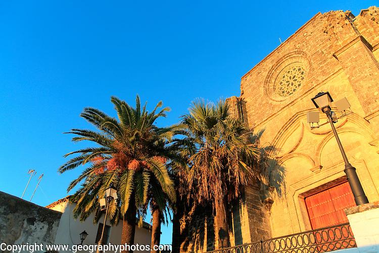 Church of Divino Salvador, Vejer de la Frontera, Cadiz Province, Spain