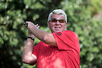 John Daly during the World Celebrity Pro-Am 2016 Mission Hills China Golf Tournament on 22 October 2016, in Haikou, China. Photo by Weixiang Lim / Power Sport ImagesJohn Daly during the