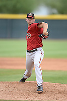 Arizona Diamondbacks pitcher Tyler Bolton (39) during an Instructional League game against the Los Angeles Angels on October 7, 2014 at Salt River Fields at Talking Stick in Scottsdale, Arizona.  (Mike Janes/Four Seam Images)
