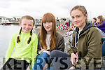 Éabha Ní Laighan, Megan Riordan and Hannah Nix (Cloghane /Brandon) enjoying the Dingle Regatta over the weekend.