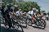 white jersey / best young rider Simon Yates (GBR/Orica-Scott)<br /> <br /> 104th Tour de France 2017<br /> Stage 16 - Le Puy-en-Velay &rsaquo; Romans-sur-Is&egrave;re (165km)