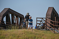 Wei-Ling Hsu (TPE) makes her way across the bridge near the tee on 2 during the round 3 of the Volunteers of America Texas Classic, the Old American Golf Club, The Colony, Texas, USA. 10/5/2019.<br /> Picture: Golffile   Ken Murray<br /> <br /> <br /> All photo usage must carry mandatory copyright credit (© Golffile   Ken Murray)