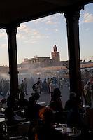 MAY 31, 2008; MARRAKECH, MOROCCO; Springtime in Marrakech, Morocco. Photo by Matt May