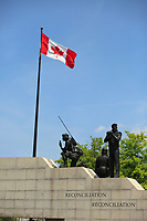 Ottawa (ON) CANADA - June 17 2012 - Canada's capital Ottawa War monument