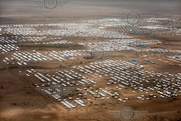 The Kakuma refugee camp in the North West of the country, mainly houses refugees from South Sudan and Ethiopia many living here since 1992.