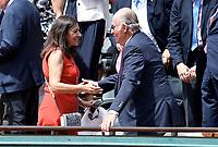Anne Hidalgo, Juan Carlos - Internationaux de france de tennis de Roland Garros 2017 - Finale MESSIEURS