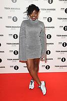 LONDON, UK. October 21, 2018: Clara Amfo at tthe BBC Radio 1 Teen Awards 2018 at Wembley Stadium, London.<br /> Picture: Steve Vas/Featureflash