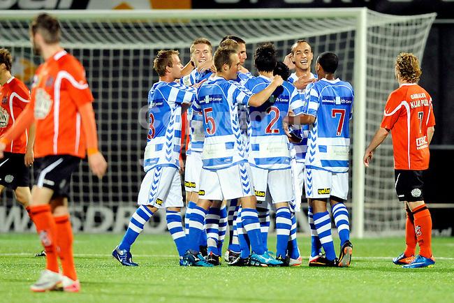 ZWOLLE - Voetbal, FC Zwolle - FC Volendam , seizoen 2011-2012, 16-09-2011 Zwolle viert de 1-0. ANP PRO SHOTS