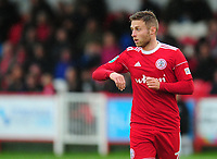 Accrington Stanley's Jordan Clark<br /> <br /> Photographer Kevin Barnes/CameraSport<br /> <br /> The Carabao Cup - Accrington Stanley v Preston North End - Tuesday 8th August 2017 - Crown Ground - Accrington<br />  <br /> World Copyright &copy; 2017 CameraSport. All rights reserved. 43 Linden Ave. Countesthorpe. Leicester. England. LE8 5PG - Tel: +44 (0) 116 277 4147 - admin@camerasport.com - www.camerasport.com