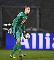 KV KORTRIJK - AA GENT :<br /> AA Gent doelman Thomas Kaminski voor het eerst terug bij zijn vorige ploeg<br /> <br /> Foto VDB / Bart Vandenbroucke