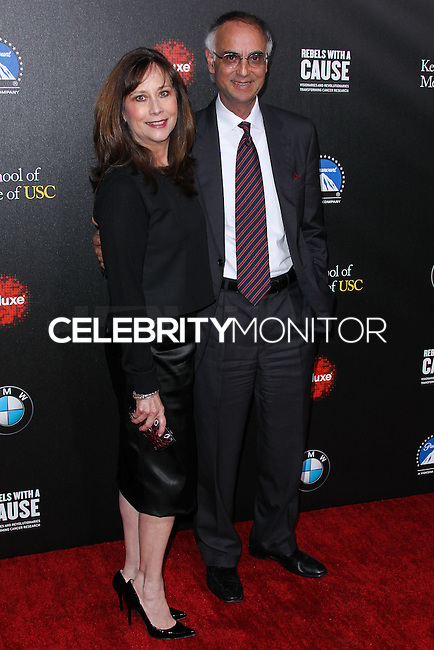 HOLLYWOOD, LOS ANGELES, CA, USA - MARCH 20: Kim Shah, Dr. Prediman K. Shah at the 2nd Annual Rebels With A Cause Gala Honoring Larry Ellison held at Paramount Studios on March 20, 2014 in Hollywood, Los Angeles, California, United States. (Photo by Xavier Collin/Celebrity Monitor)