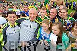 Aidan O'Mahony and Kieran Donaghy Kerry Senior footballers at Kerry GAA family day at Fitzgerald Stadium on Saturday.