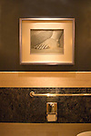 Artwork, Bathroom, Picasso Restaurant, Las Vegas, Nevada