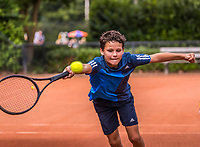Hilversum, Netherlands, August 9, 2017, National Junior Championships, NJK, Yanik Maarsen<br /> Photo: Tennisimages/Henk Koster