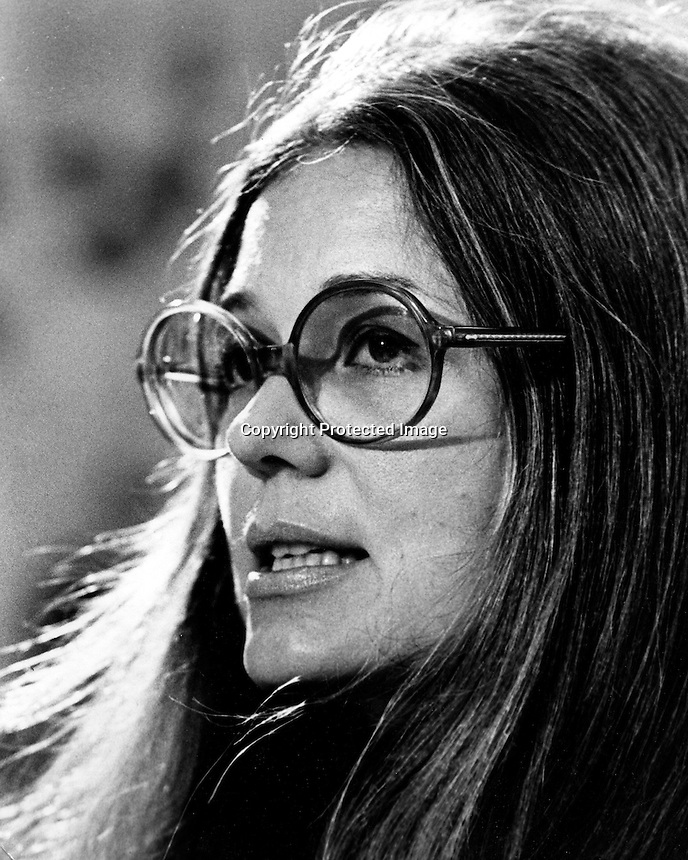 Gloria Steinem, feminist leader, writer, journalist and co-founder of New York magazine. (1974 photo by Ron Riesterer)