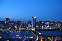 Pittsburgh's Night Time Skyline