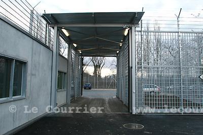 Genève, le 18.01.2008.Prison de la Brenaz.© Le Courrier / J.-P. Di Silvestro