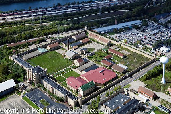 aerial photograph Joliet Correctional Center, Joliet, Illinois