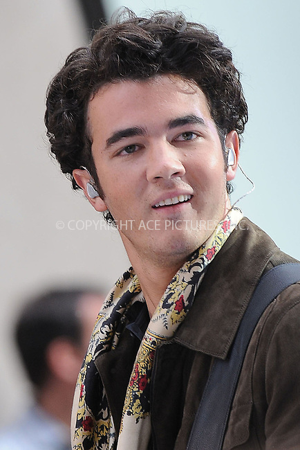 WWW.ACEPIXS.COM . . . . . ....June 19 2009, New York City....Kevin Jonas of The Jonas Brothers perform on NBC's 'Today' at Rockefeller Center on June 19, 2009 in New York City.....Please byline: KRISTIN CALLAHAN - ACEPIXS.COM.. . . . . . ..Ace Pictures, Inc:  ..tel: (212) 243 8787 or (646) 769 0430..e-mail: info@acepixs.com..web: http://www.acepixs.com