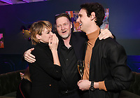 LOS ANGELES, CA - FEBRUARY 6:  Erin Richards, Donal Logue and Cory Michael Smith attend the FOX Winter TCA 2019 All Star Party at The Fig House on February 6, 2019 in Los Angeles, California. (Photo by Scott Kirkland/Fox/PictureGroup)