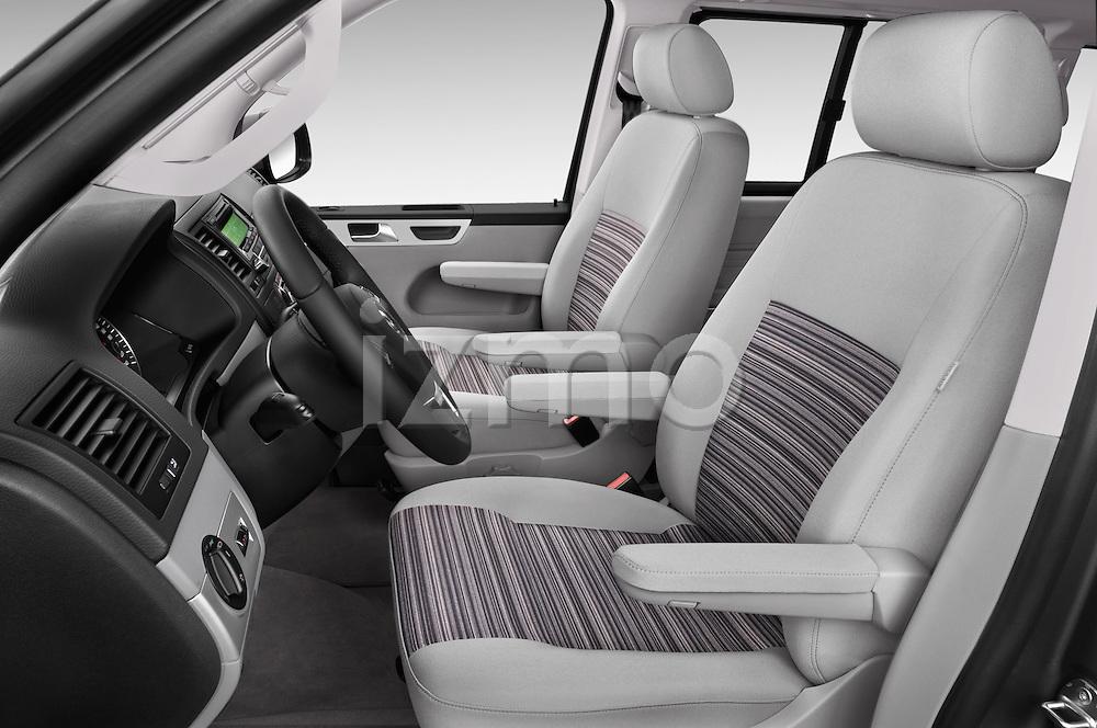Front seat view of a 2014 Volkswagen CALIFORNIA COMFORTLINE EDITION BLUEMOTION 4 Door Minivan Front Seat car photos