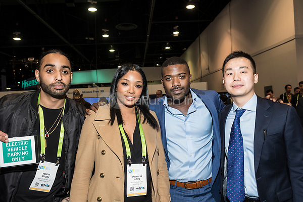 LAS VEGAS, NV - JANUARY 11: Princess Love and Ray J seen at CES 2018 in Las Vegas, Nevada on January 11, 2018. Credit: Damairs Carter/MediaPunch