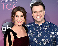 05 August 2019 - West Hollywood, California - Cobie Smulders, Taran Killam. ABC's TCA Summer Press Tour Carpet Event held at Soho House.    <br /> CAP/ADM/BB<br /> ©BB/ADM/Capital Pictures