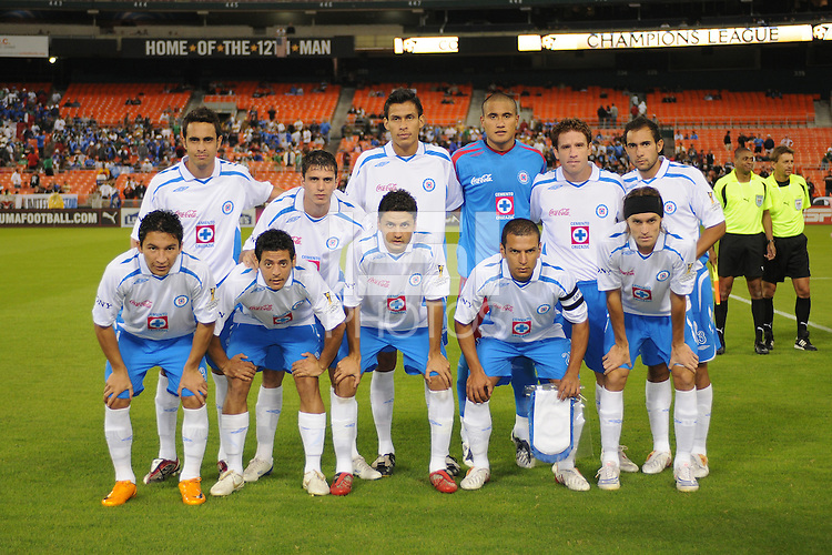 CD Cruz Azul Starting Eleven. CD Cruz Azul defeated DC United 1-0 ,  in the first leg of the group A of the Concacaf Champions League, Wednesday October 1st, 2008 at RFK Stadium.