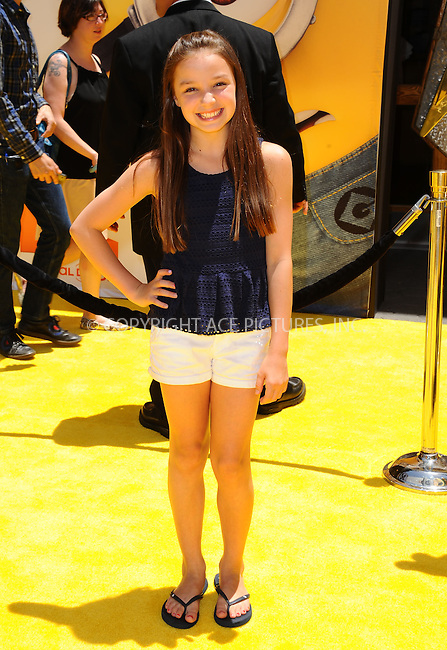 WWW.ACEPIXS.COM<br /> <br /> June 22 2013, New York City<br /> <br /> Mackenzie Aladjem arriving at the 'Despicable Me 2' premiere at Universal CityWalk on June 22, 2013 in Universal City, California.<br /> <br /> <br /> By Line: Peter West/ACE Pictures<br /> <br /> <br /> ACE Pictures, Inc.<br /> tel: 646 769 0430<br /> Email: info@acepixs.com<br /> www.acepixs.com