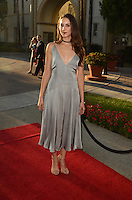 """LOS ANGELES, CA - AUGUST 31: Troian Bellisario at the """"Sister Cities"""" Los Angeles Premiere at Paramount Studios in Los Angeles, California on August 31, 2016. Credit: David Edwards/MediaPunch"""