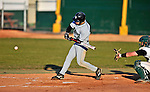 15 April 2008: Dartmouth College Big Green outfielder Sam Bean, a Freshman from Needham, MA, in action against the University of Vermont Catamounts at Historic Centennial Field in Burlington, Vermont. The Catamounts rallied from a 7-3 deficit to win 8-7 over Dartmouth in a non-conference NCAA game...Mandatory Photo Credit: Ed Wolfstein Photo