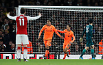 Liverpool's Roberto Firmino celebrates scoring his sides third goal during the premier league match at the Emirates Stadium, London. Picture date 22nd December 2017. Picture credit should read: David Klein/Sportimage