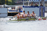THE FAWLEY CHALLENGE CUP<br /> Leander Club (331)<br /> Monmouth Comprehensive School (337)<br /> <br /> Henley Royal Regatta 2018 - Thursday<br /> <br /> To purchase this photo, or to see pricing information for Prints and Downloads, click the blue 'Add to Cart' button at the top-right of the page.