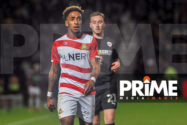 Doncaster Rovers forward Malik Wilks (7) during the Sky Bet League 1 match between Doncaster Rovers and Barnsley at the Keepmoat Stadium, Doncaster, England on 15 March 2019. Photo by Stephen Buckley / PRiME Media Images.