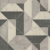 Zachary Grand, a hand-cut stone mosaic, shown in honed Bianco Antico, Cavern, and Palomar, is part of the Semplice® collection for New Ravenna.