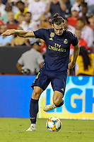Landover, MD - July 23, 2019: Real Madrid Gareth Bale (11) in action during the match between Arsenal and Real Madrid at FedEx Field in Landover, MD.   (Photo by Elliott Brown/Media Images International)