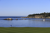 View from the 5th hole during Sunday's Final Round of the 2018 AT&amp;T Pebble Beach Pro-Am, held on Pebble Beach Golf Course, Monterey,  California, USA. 11th February 2018.<br /> Picture: Eoin Clarke | Golffile<br /> <br /> <br /> All photos usage must carry mandatory copyright credit (&copy; Golffile | Eoin Clarke)