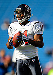 1 November 2009: Houston Texans' wide receiver Andre Davis warms up prior to a game against the Buffalo Bills at Ralph Wilson Stadium in Orchard Park, New York, United States of America. The Texans defeated the Bills 31-10. Mandatory Credit: Ed Wolfstein Photo