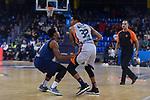 Turkish Airlines Euroleague 2017/2018.<br /> Regular Season - Round 8.<br /> FC Barcelona Lassa vs Valencia Basket: 89-71.<br /> Phil Pressey vs Erick Green.