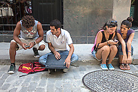 Texting, La Habana Vieja