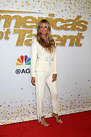 "Heidi Klum<br /> at the ""America's Got Talent"" Season 13 Live Show Red Carpet, Dolby Theater, Hollywood, CA 08-14-18<br /> David Edwards/DailyCeleb.com 818-249-4998"